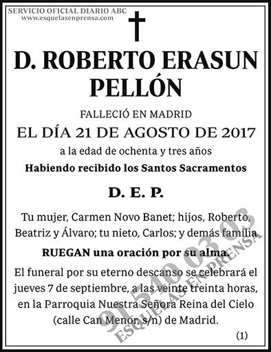 Roberto Erasun Pellón